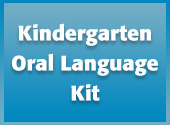 Kindergarten Oral Language Kit