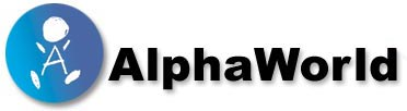 AlphaWorld Logo