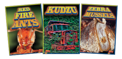 Invasive Species Takeover Book Covers