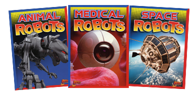 Mighty Bots Book Covers