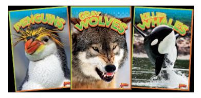 Wild Animal Kingdom Book Covers