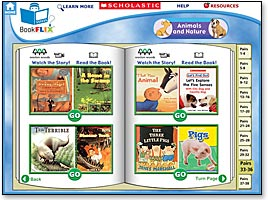 Bookflix screen