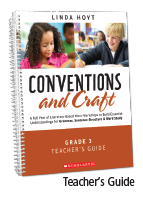 Conventions and Craft Teacher