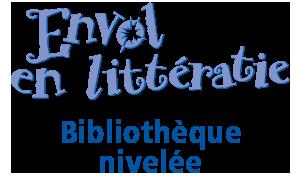 Envol en littératie : Bibliothèque nivelée logo