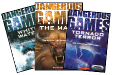 Dangerous Games Cover Spreads