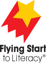 Flying Start to Literacy logo