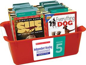 Image of grade 5 non-fiction book box