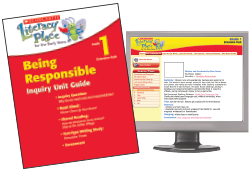 Cover of Being Responsible Teaching Guide