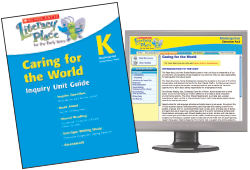 Cover of Caring for the World Teaching Guide