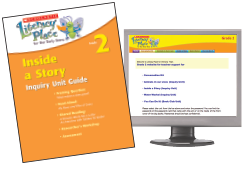 Cover of Inside a Story Teaching Guide