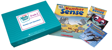 Math Place Big and little book versions and box