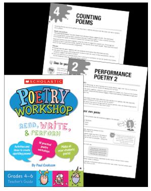 Poetry Workshop Teacher