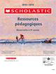 2018-19 Ressources pedagogiques Catalogue Cover Image