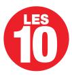 Les 10